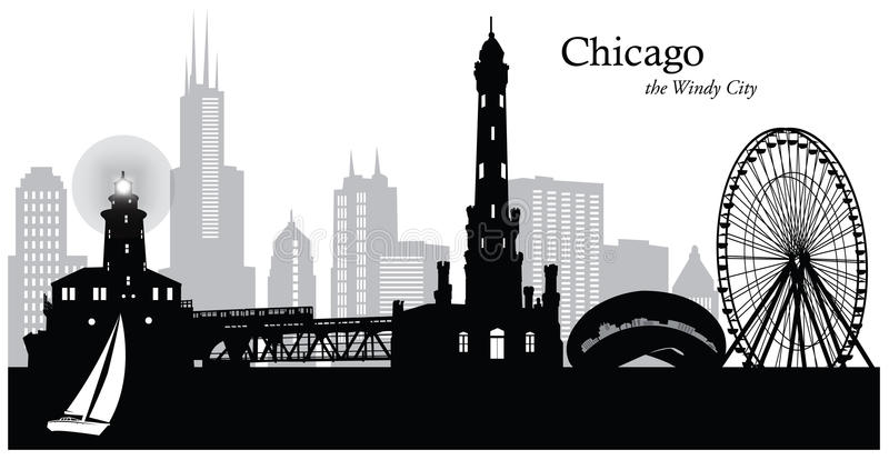 Chicago Stock Illustrations.