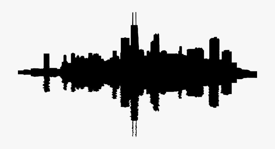 Free Chicago Skyline Clipart , Transparent Cartoon, Free.