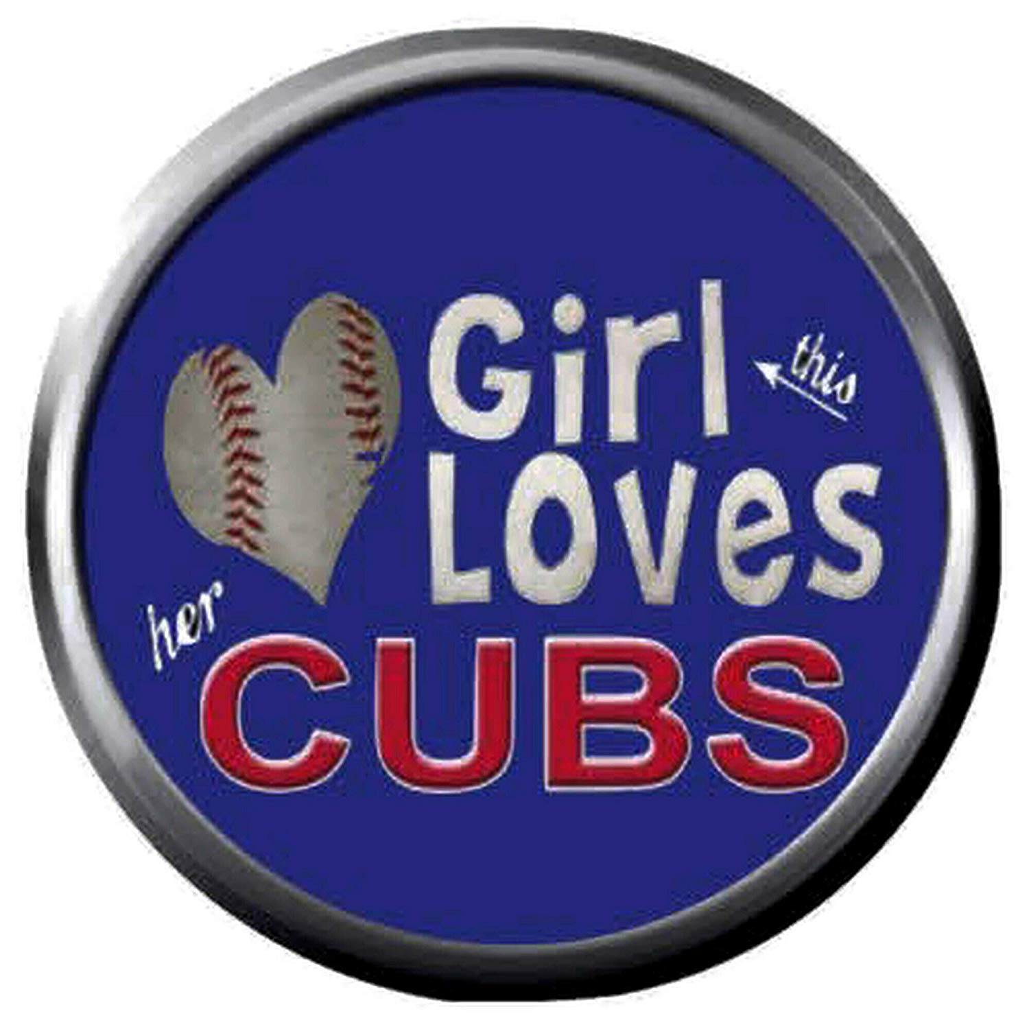 Amazon.com: Wrigley Field Girl Love MLB Baseball Chicago.