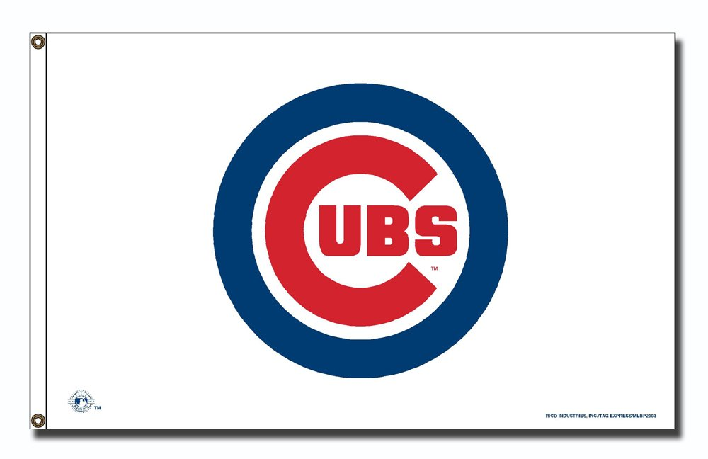MLB Chicago Cubs Logo (On White) 3.