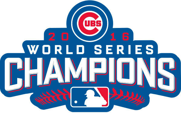 Chicago Cubs 2016 World Series Champions Logo.