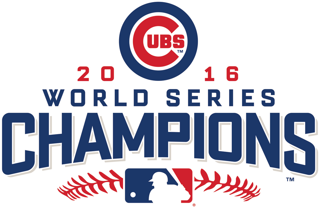 Chicago Cubs Champion Logo (2016).