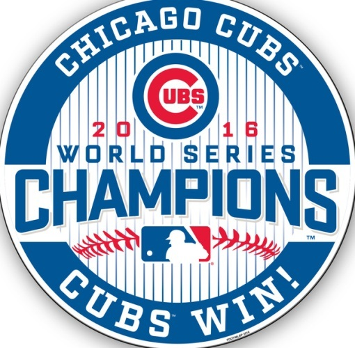 2016 World Series Chicago Cubs Magnet 12\