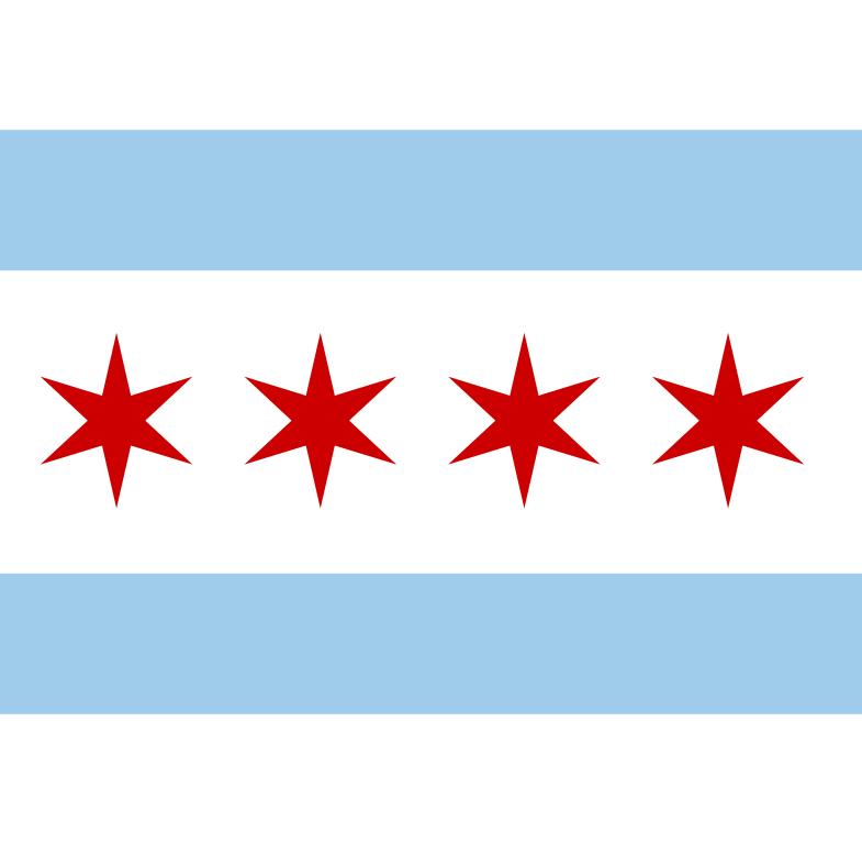 File:Municipal Flag of Chicago.