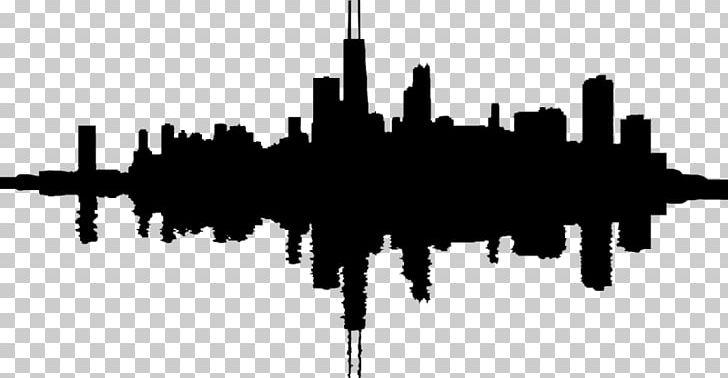 Chicago Skyline Graphics PNG, Clipart, Animals, Black And.