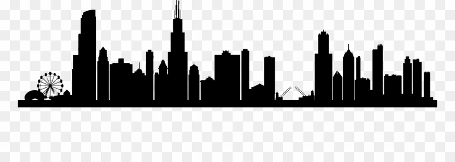 Chicago City Skyline PNG Chicago Skyline Clipart download.