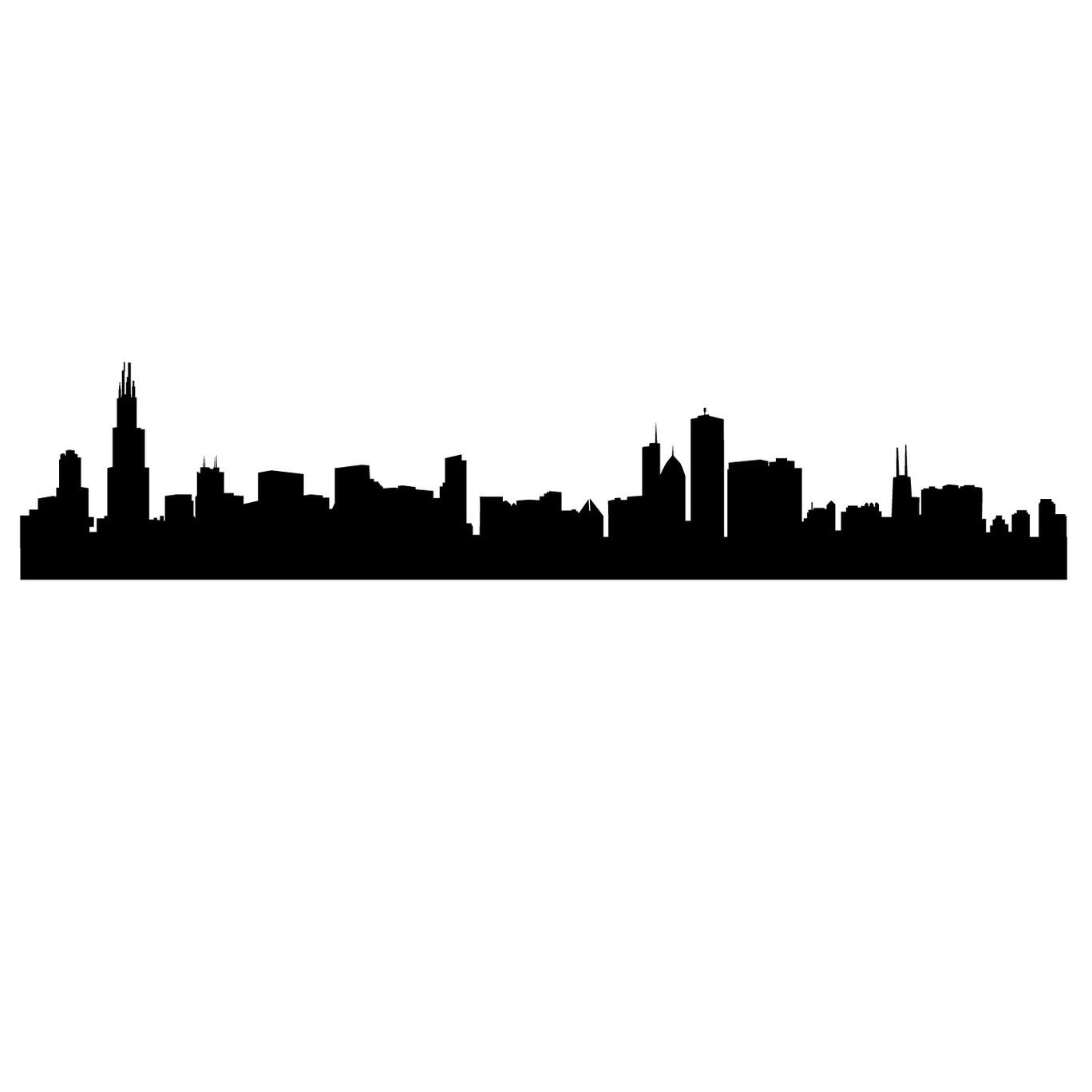 Chicago Skyline Clipart.