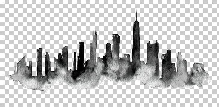 Chicago Skyline PNG, Clipart, Animals, Black And White, Chicago.