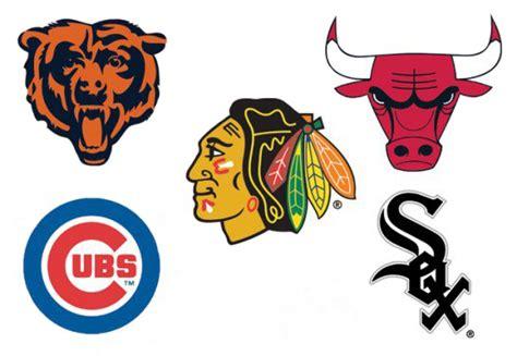 Chicago sports teams Logos.