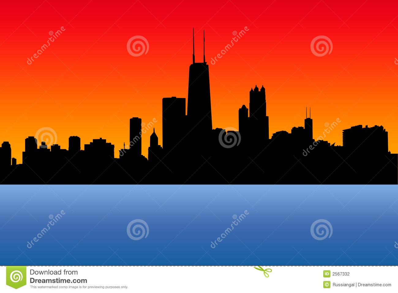 Chicago Stock Illustrations.