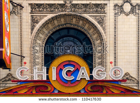 Chicago Theater Stock Images, Royalty.