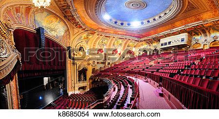 Stock Photo of Chicago Theatre k8685054.