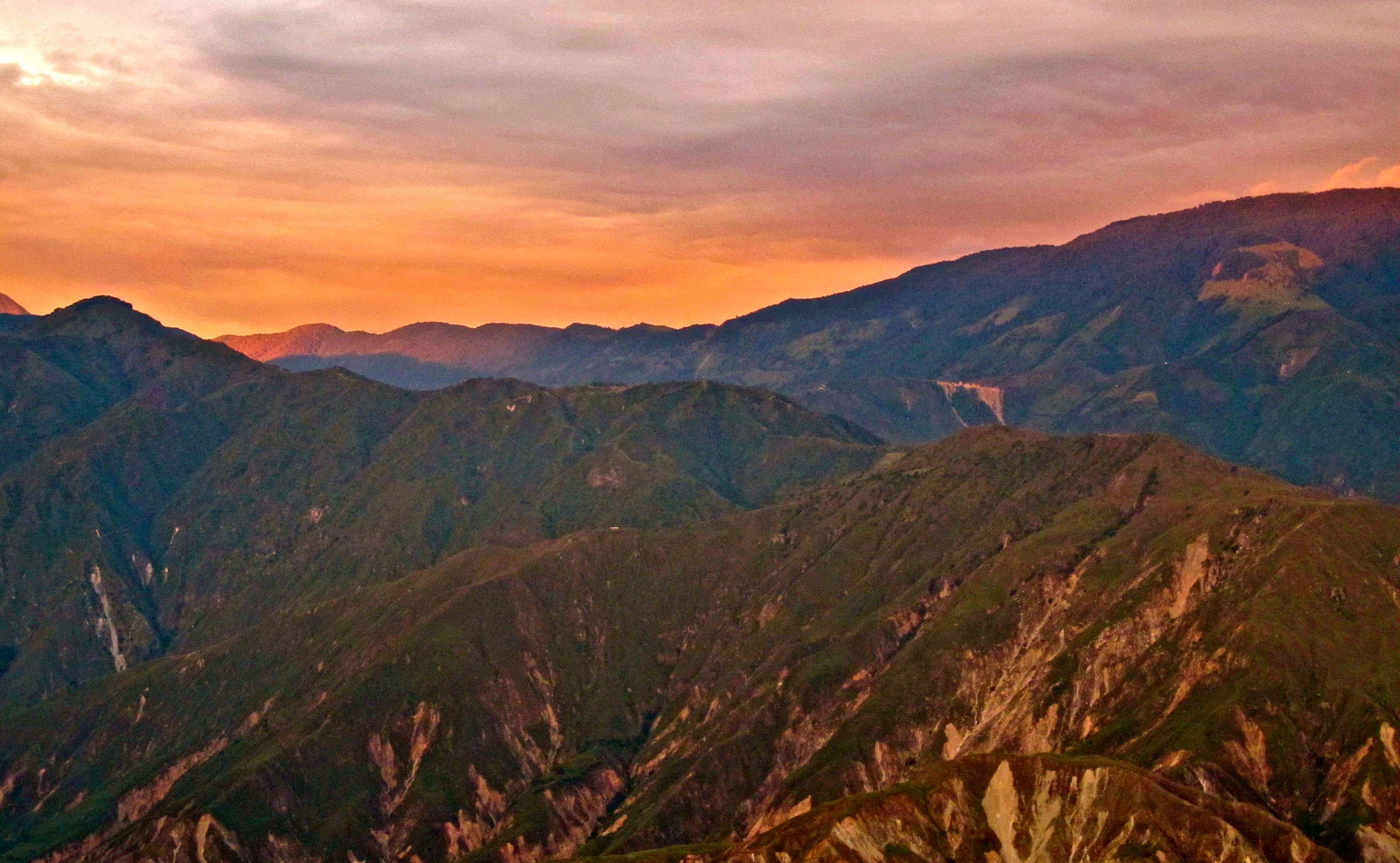 Chicamocha Canyon Colombia Sunset Tram 26.