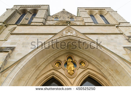 Chichester Cathedral Stock Photos, Royalty.
