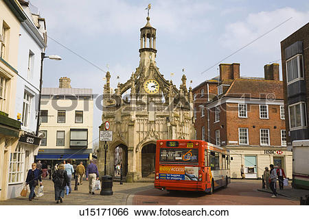 Stock Images of England, West Sussex, Chichester, A view of the.