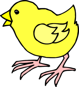 Cartoon baby chick clip art high quality.