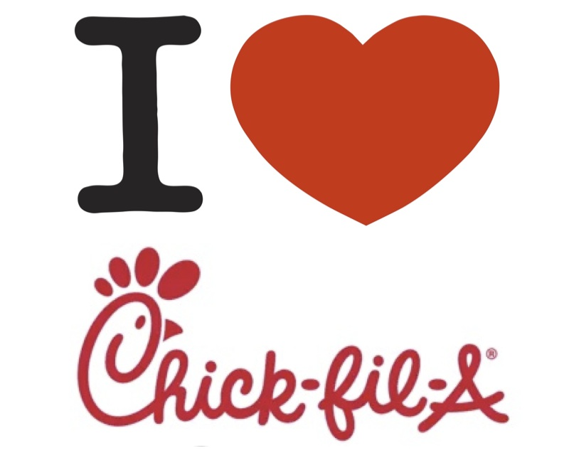 Collection of Chick fil clipart.