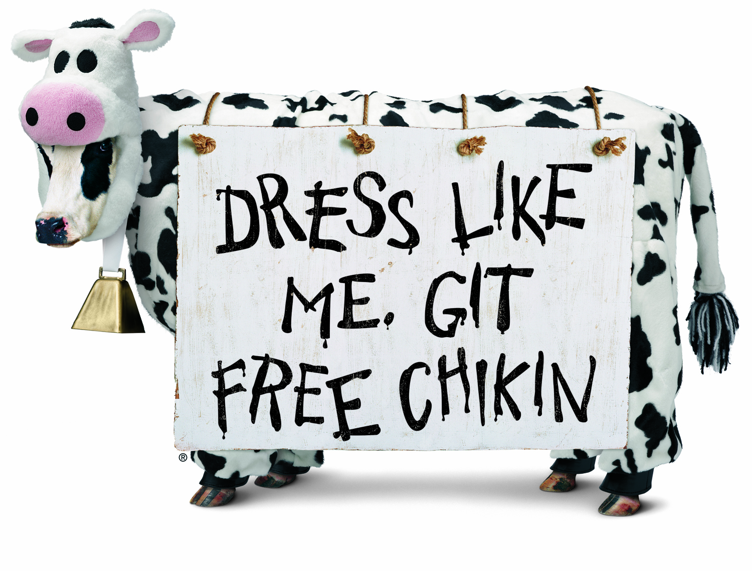 20th Anniversary of the Eat Mor Chikin Cow Campaign.