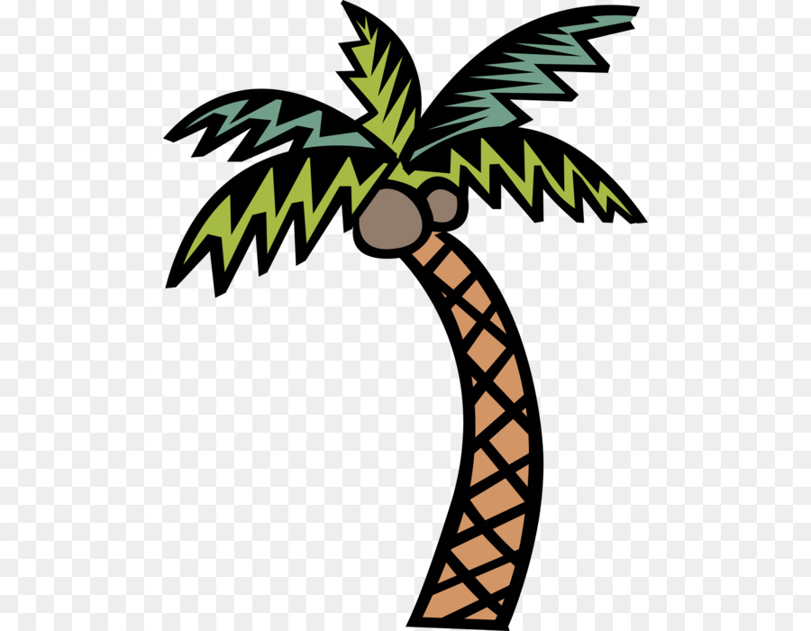 Coconut Tree Cartoon.