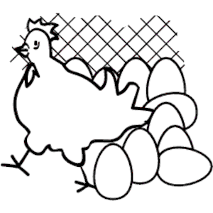 Chicken & Eggs clipart, cliparts of Chicken & Eggs free.