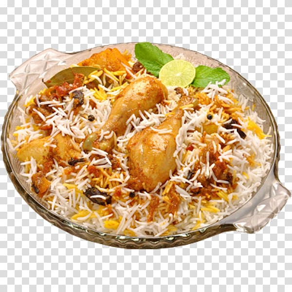 Hyderabadi biryani Hyderabadi cuisine Indian cuisine Chicken.