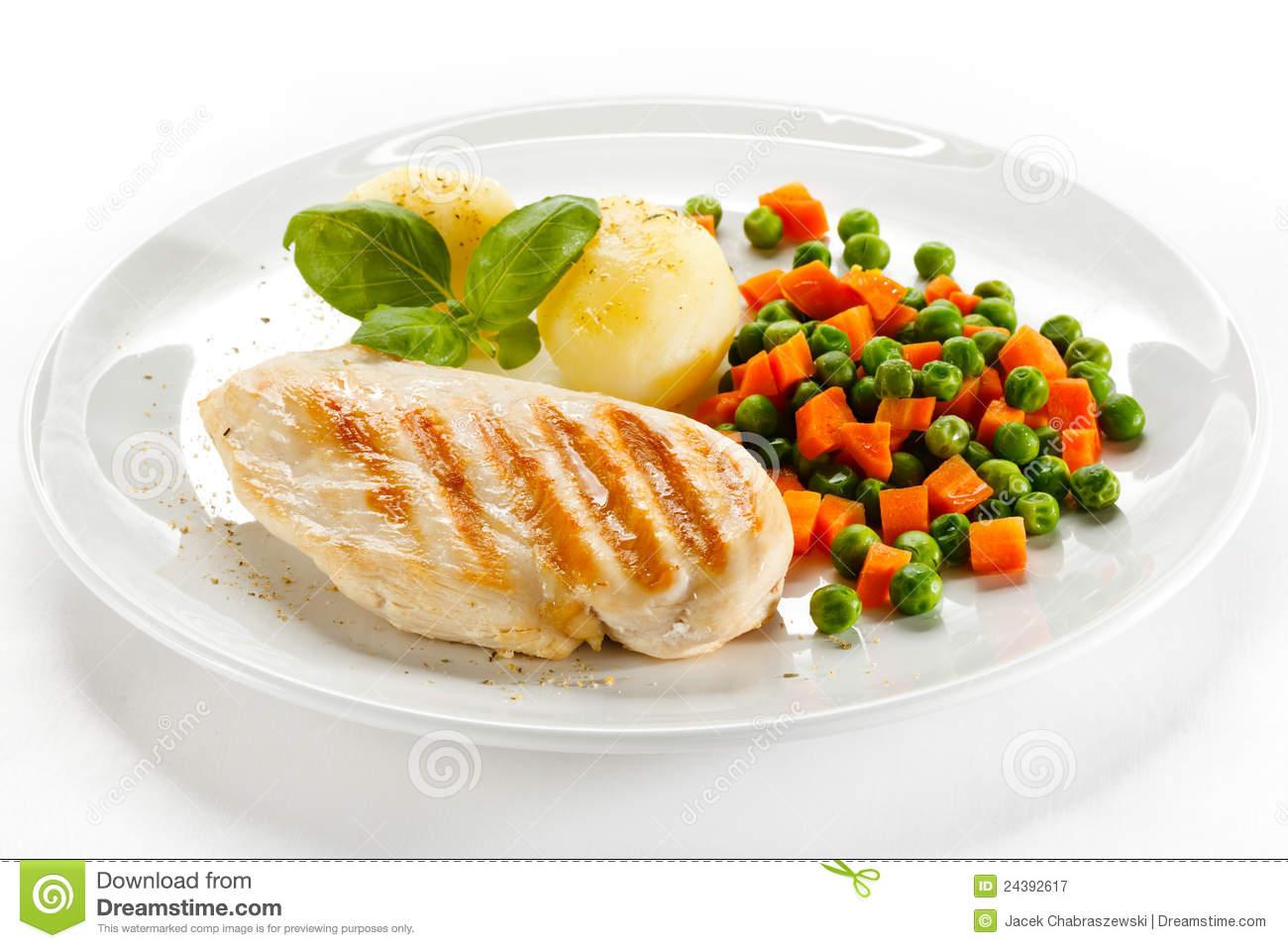 Chicken Patty Clipart.