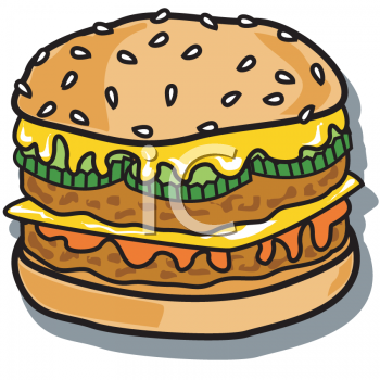 Chicken Patty Clipart.