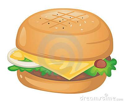 Chicken Sandwich Clipart.