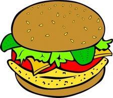 Burger Free Vectors.