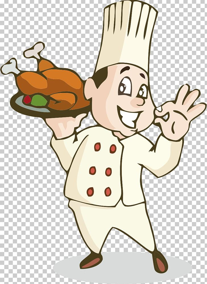 Roast Chicken Chef Cooking Chicken Nugget PNG, Clipart.