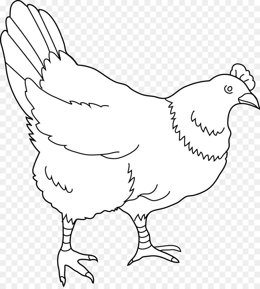 Chicken clipart black white 5 » Clipart Station.
