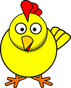 Cute Chicken Clipart.