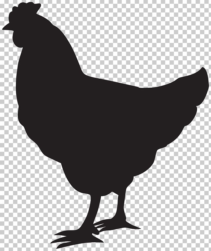 Chicken Silhouette Rooster PNG, Clipart, Art, Beak, Bird.