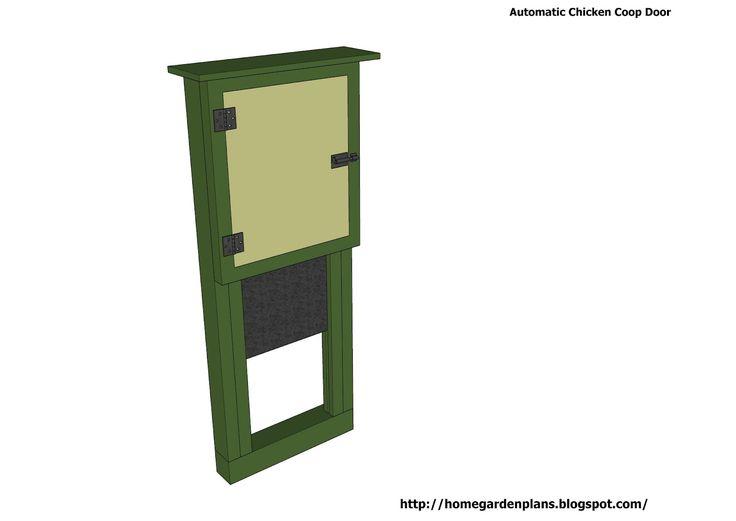 1000+ ideas about Automatic Chicken Coop Door on Pinterest.