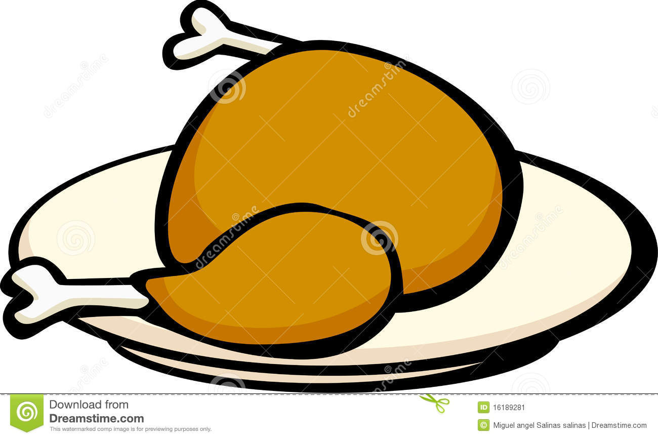 Chicken Dinner Clip Art.