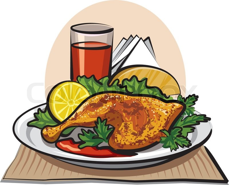 Fried chicken dinner clipart 4 » Clipart Station.