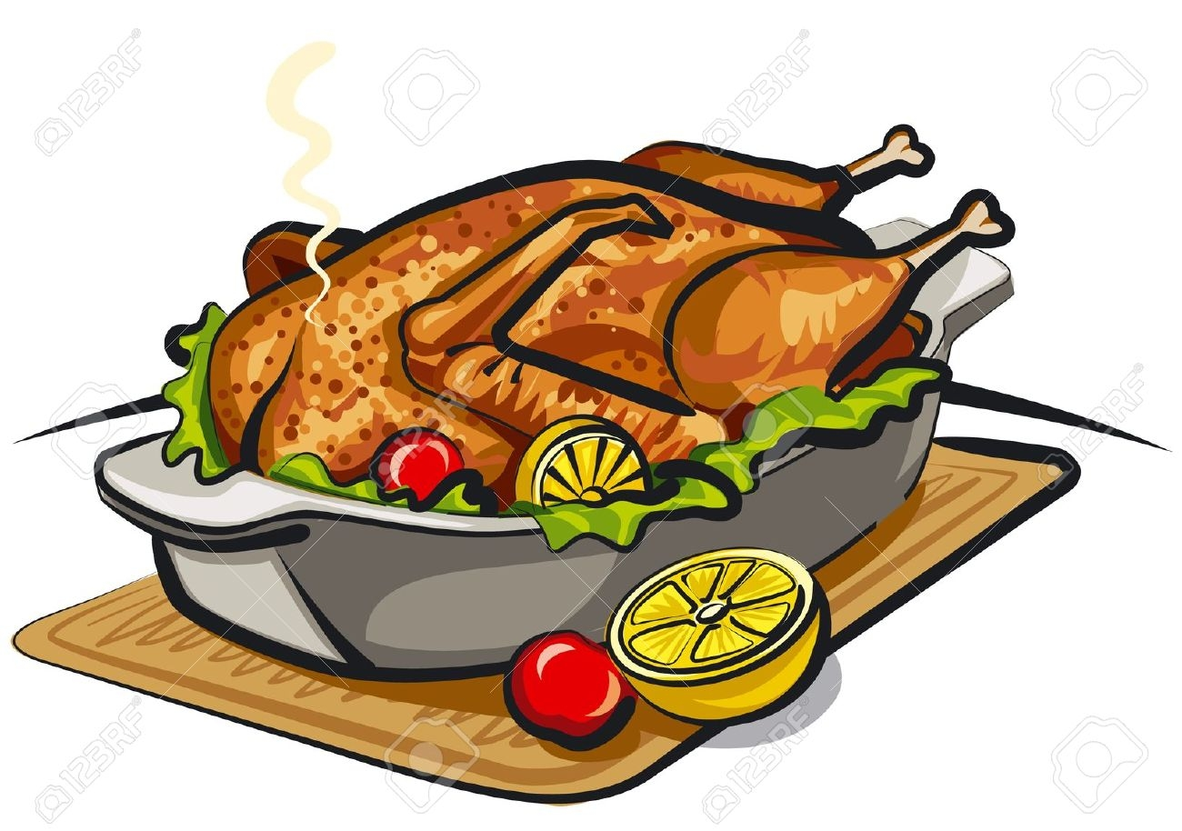 Chicken dish clipart 4 » Clipart Station.