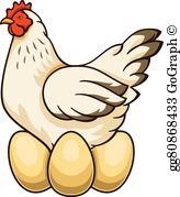 Chicken Eggs Clip Art.
