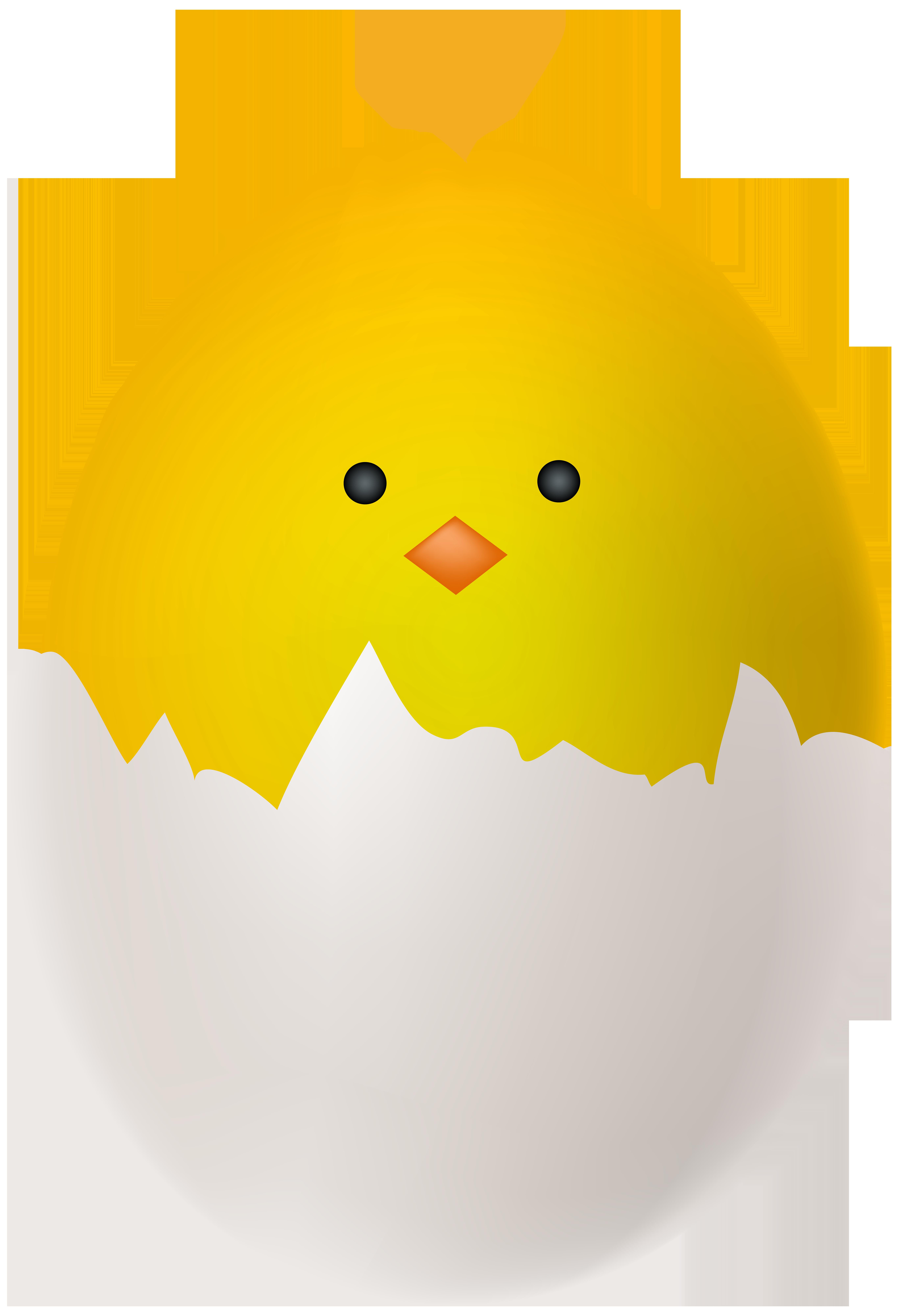 Easter Chicken Egg Transparent Clip Art.