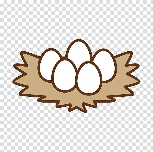 Chicken egg Nest , Nest egg transparent background PNG.
