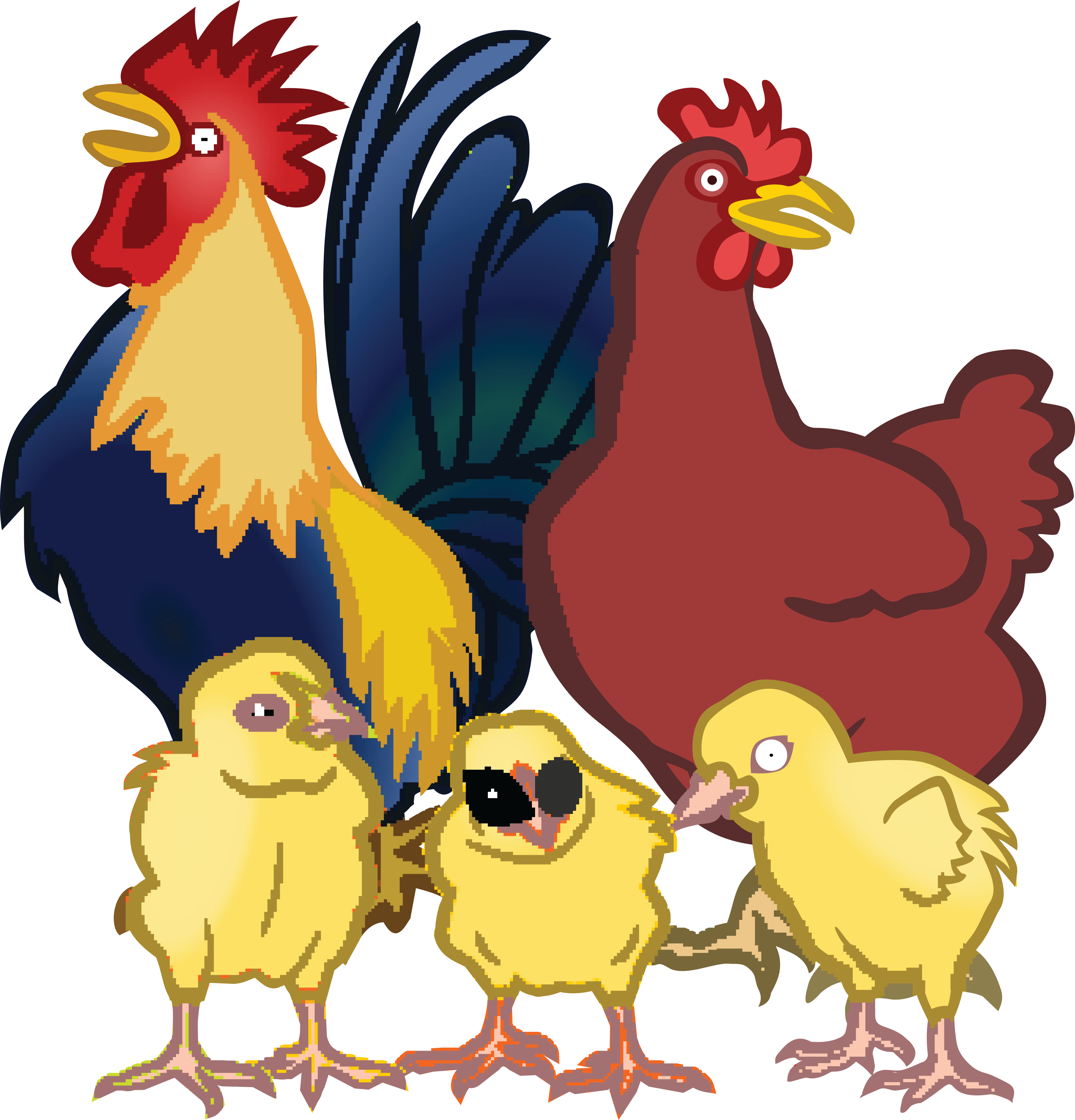 Free Chicken Clipart Transparent, Download Free Clip Art.