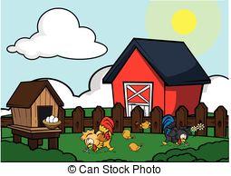 Chicken farm Illustrations and Clipart. 15,171 Chicken farm.