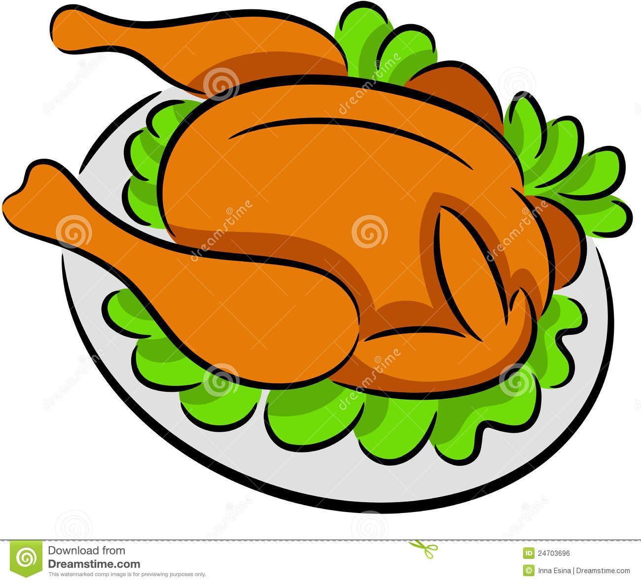 Chicken Food Clipart.