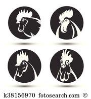 Chicken head Clip Art Illustrations. 1,254 chicken head clipart.