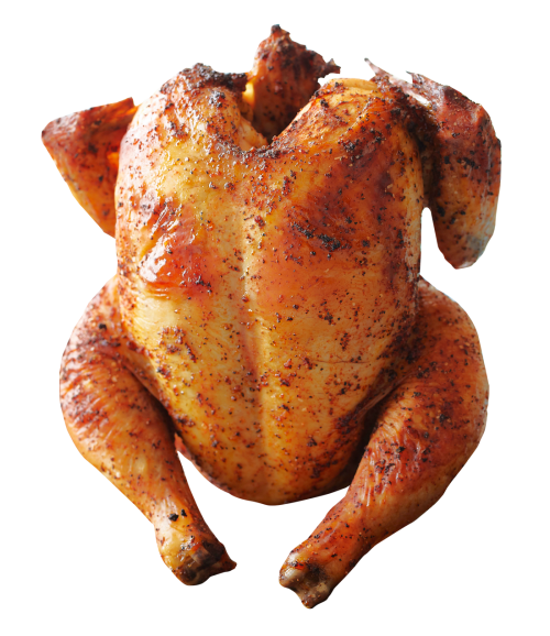Grill Chicken PNG Transparent Image.