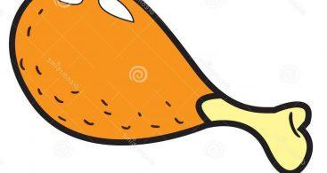 Chicken Leg Clip Art Archives.