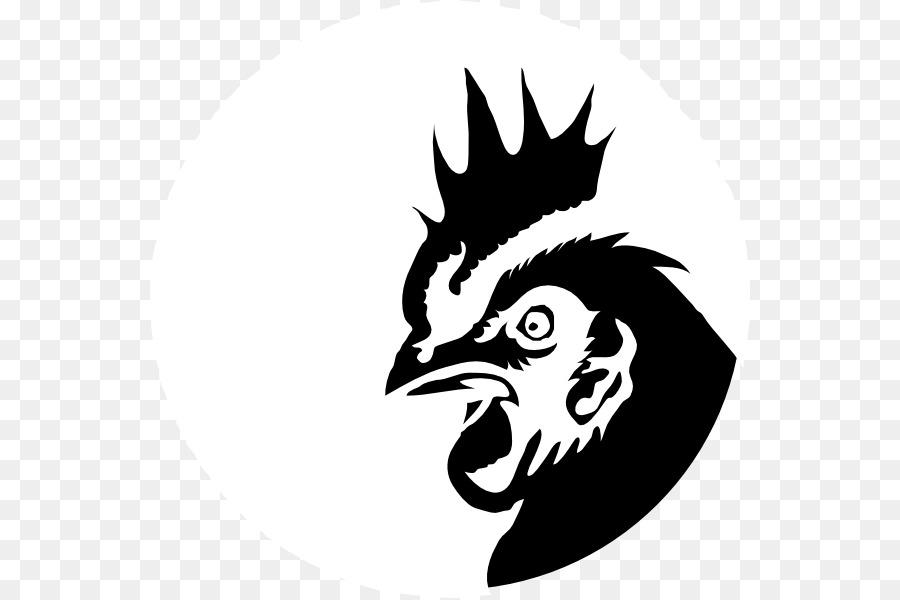Chicken Logo clipart.