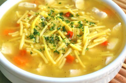 Chicken Noodle Soup Recipe.