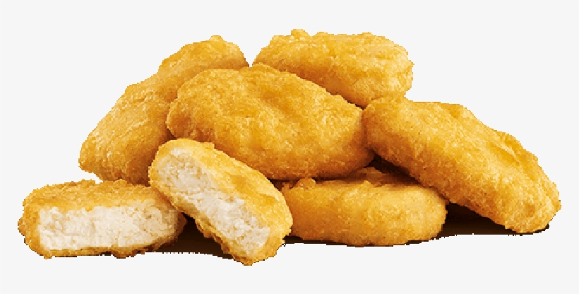 Chicken Nugget From Mcdonald's Transparent PNG.