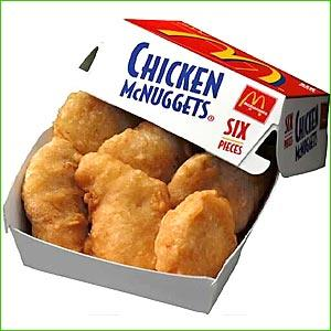 Chicken Nuggets Clip Art.